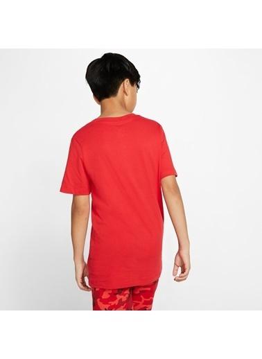 Nike Nike AR5254657 NSW TEE EMB FUTURA Çocuk Tişört Kırmızı